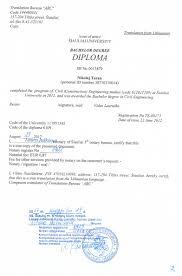 bureau notarial diplomas