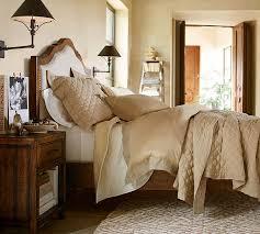 Pottery Barn Upholstered Bed Laurel Bed U0026 Dresser Set Pottery Barn