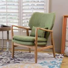 Wooden Frame Armchair Mid Century Living Room Chairs Shop The Best Deals For Nov 2017