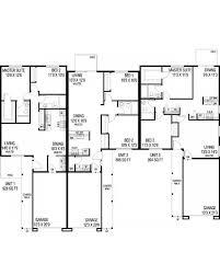 amazingplans com multi plex plan l407 13 triplex contemporary