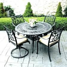metal outdoor table and chairs iron outdoor table mybestfriendtherhino com