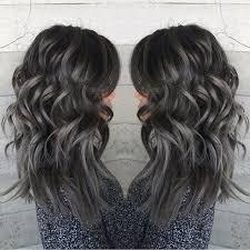 best way to blend gray hair into brown hair best 25 dark grey hair ideas on pinterest grey hair or dyed