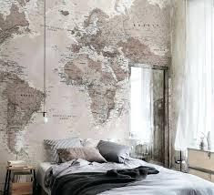 tapisserie chambre adulte deco tapisserie chambre papier peint paysage de montagne deco papier