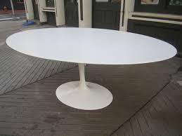 saarinen oval dining table used saarinen oval dining table replica avec dining tables oval tulip