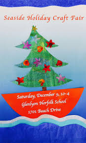 call for vendors seaside holiday craft fair dec 9 in victoria