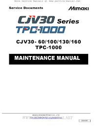 mimaki cjv30 60 series service manual cartesian coordinate