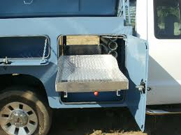 Slide Out Truck Bed Tool Boxes Landscaper Utility Bed
