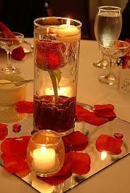 candle centerpieces submerged flowers with floating candle centerpieces budget