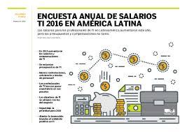 sueldos profesionales en mxico 2016 salarios ti 2016 final pdf
