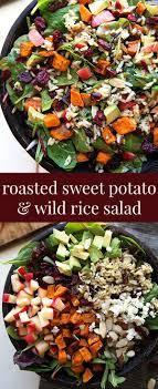 roasted sweet potato and rice salad recipe sweet potato