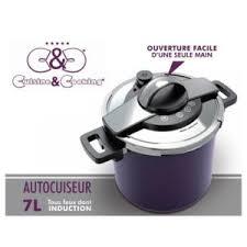 cuisine autocuiseur cuisinecooking autocuiseur 7 l inox violet cuisine cooking