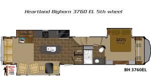 Fifth Wheel Floor Plans Front Living Room Bighorn 5th Wheels By Heartland Rv