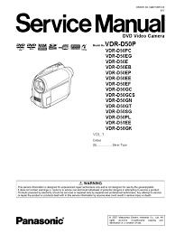 vdr d50 service manual electrostatic discharge solder