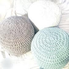 poufs ottoman bubble knit pouf chair obsession poufs extra seating