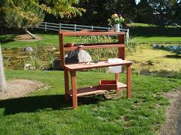Inexpensive Potting Bench by 10 Fun Facts About Potting Benches Wood Country