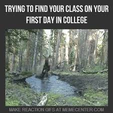 First Day Of Class Meme - trying to find your class on your first day in college by pedrox6