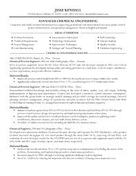 Mechanical Engineering Student Resume Format Resume Chemical Engineering