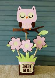 owl centerpieces owl baby girl shower decorations 711
