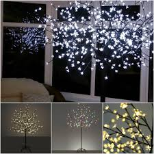 cherry blossom home decor iron trunk sparkling led cherry blossom tree light with slim