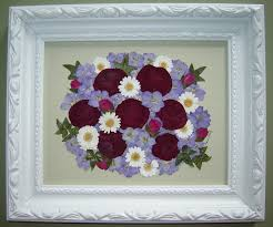 preserving flowers pressed garden pressed flower from memorial flowers
