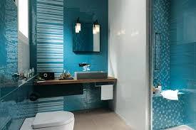 marin effect in bathroom decoration blue white decor8 ideas