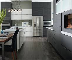 Laminate Kitchen Designs Laminate Cabinets In A Contemporary Kitchen Schrock