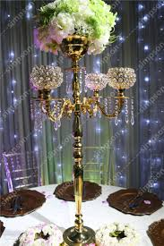 aliexpress com buy 4pcs lot crystal wedding centerpiece crystal