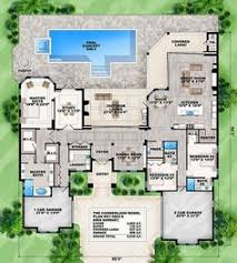 home plans homepw76422 2 454 square feet 4 bedroom 3 this 4 bedroom coastal contemporary house plan features a great