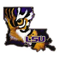 lsu alumni sticker lsu tigers geaux tigers bumper sticker decal