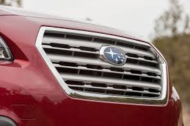 red subaru outback 2015 subaru outback first drive motor trend
