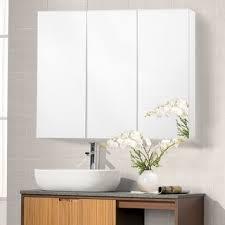 fresca 40 inch wide bathroom medicine cabinet with mirrors free