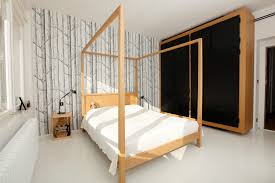 Wood Canopy Bed Sublime Wood Canopy Beds Decorating Ideas Gallery In Bedroom