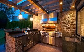 cuisine exterieure en cuisine ete exterieur une pergola qui abrite une cuisine exterieure