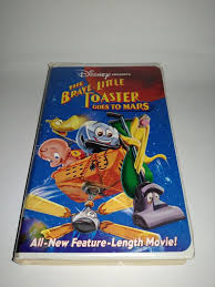 Adventures Of The Little Toaster The Brave Little Toaster Goes To Mars Vhs 1998 Clam Shell