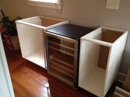 Damaged Kitchen Cabinets For Sale Kitchen Cabinets Into Bar The Cabinets Placed Our Wine Fridge