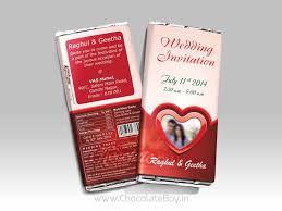 unique wedding invitation chocolate wedding invitation