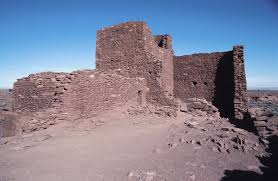how pueblos were built synonym