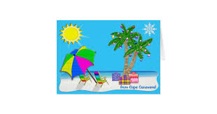 personalized beach themed christmas cards zazzle com