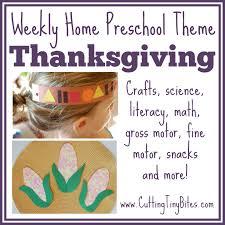 thanksgiving theme weekly home preschool gross motor