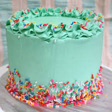 inside out cakes sherbakes inside out rainbow cake with green frosting