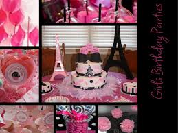girl party themes birthday by platinum birthday