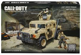 call of duty jeep white amazon com mega bloks call of duty light armor firebase model