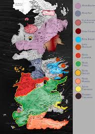 Map Westeros Maps Of Game Of Thrones U2013 Gaijinass