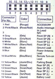 pioneer 16 pin wiring harness diagram wiring diagram and