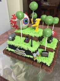 terraria birthday cake cake ideas birthday party ideas