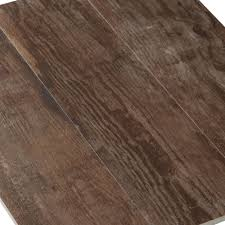 Floor And More Decor Westford Brown Wood Plank Porcelain Tile 6in X 24in