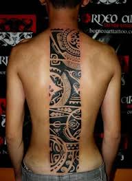 cool back tribal for