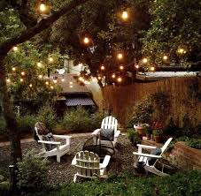 Outdoor Twinkle Lights by Pispiration Outdoor Patio Areas