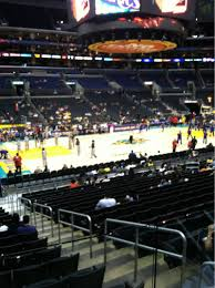 staples center section 113 home of los angeles kings los