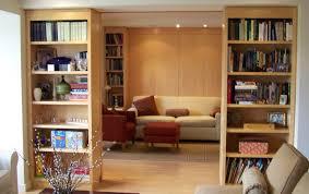 bookcase divider wall contemporary home office boston bookcase